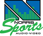 Norris Audio Video Sports Logo